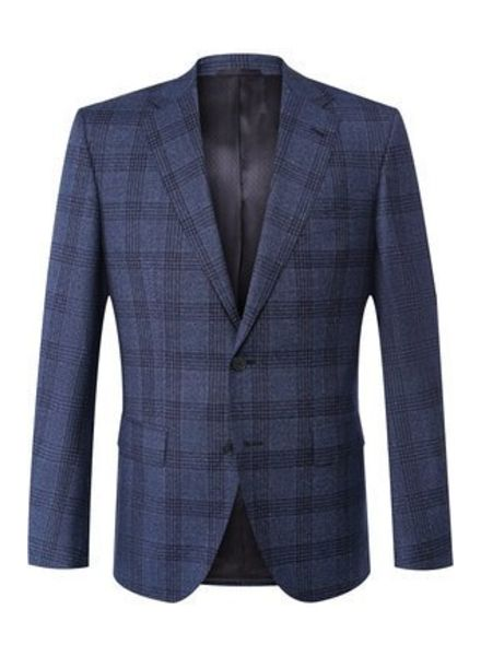 HUGO BOSS REGULAR-FIT CHECKERED JACKET