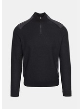 HUGO BOSS QUARTER ZIP SWEATER