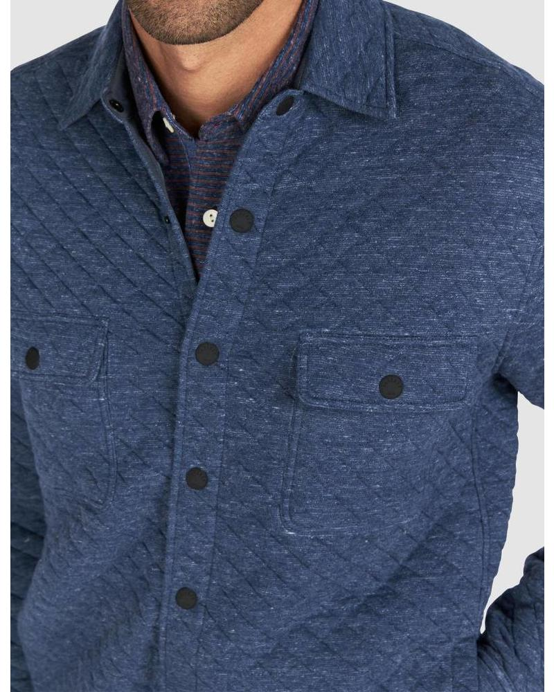 FAHERTY QUILTED SNAP JACKET