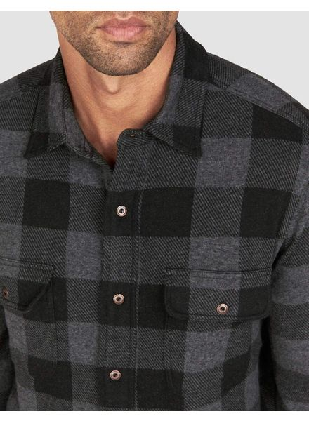 FAHERTY BUFFALO CHECK SWEATER