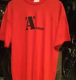 dah shop a team tshirt red/black small