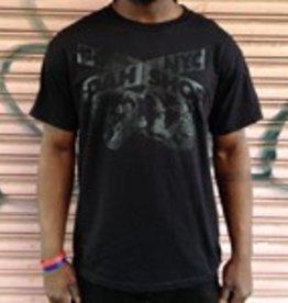 dah shop sign/x tshirt black/black medium