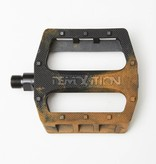 Demolition Demolition Trooper Plastic Pedal Black/ Gum Marble
