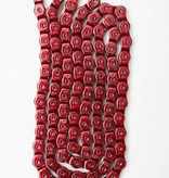 Mission 1/2 Link Chain Red Anodized