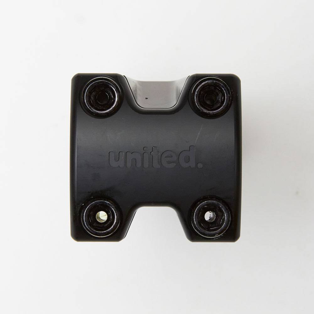 United Metro Front Load Stem 52mm black