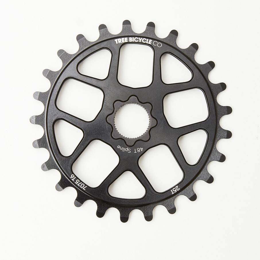 Tree Tree Bicycle Co Lite Sprocket Bolt Drive 25t Black