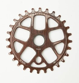 Tree Tree Bicycle Co Lite Sprocket Bolt drive 28t Wood Grain