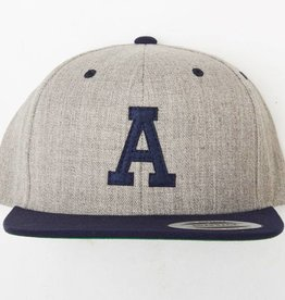 Animal Animal A Snapback Gray/nNavy