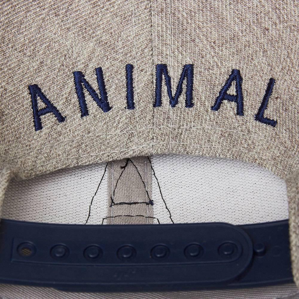 Animal Animal A Snapback Gray/nNavy