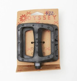 Odyssey Twisted Plastic PedaL Black