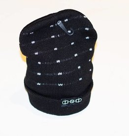 Dah Shop Dah Shop Insulated Beanie black Logo 2