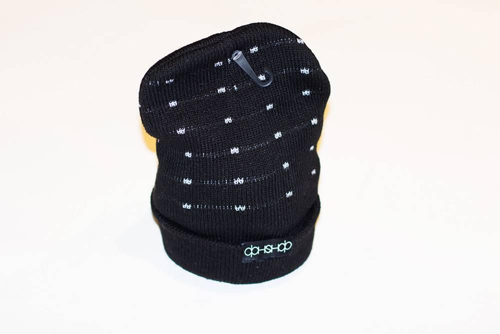 Dah Shop Dah Shop Insulated Beanie black Logo 2