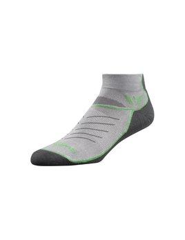 Swiftwick Swiftwick Vibe Zero Sock Pewter/Green/Grey XL