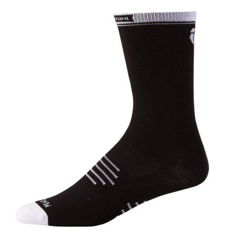 09ce87c0927 Pearl Izumi Pearl Izumi Elite Tall Sock Black - Size S - Noble Cycling