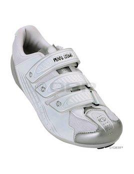 Pearl Izumi Pearl Izumi Women's Select Road II Shoe: White/Silver Size 36.5