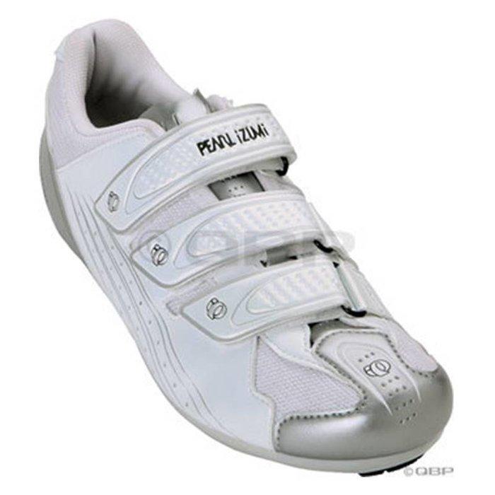 Pearl Izumi Women's Select Road II Shoe: White/Silver Size 36.5