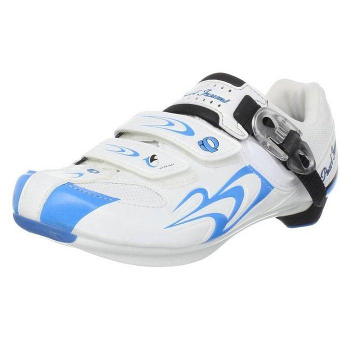 Pearl Izumi Women's Race Road Shoe II White/Blue Size - 38.0