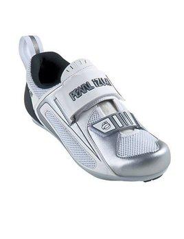 Pearl Izumi Pearl Izumi Women's Tri Fly III Shoe - White/Silver - Size 38.5