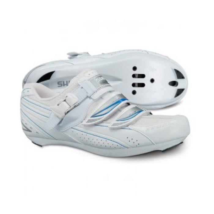 Shimano SH-WR41 Road Bike Shoes Women's Racing - WHT 37