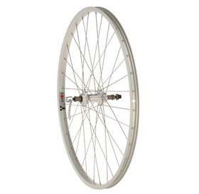 "Dimension Dimension Value Series 1 Rear Wheel 26"" Formula 135mm Freewheel / Alex Y2000 Silver"