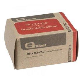 """Q-Tubes Q-Tubes 26"""" x 2.1-2.3"""" 32mm Presta Valve Tube 202g"""