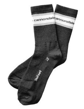 Cannondale Cannondale Classic Wool Socks by DeFeet- Black