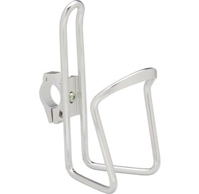 Dimension Dimension Water Bottle Cage with adjustable HB clamp: Silver