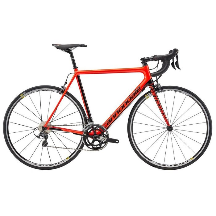 2017 SuperSix EVO Carbon Ultegra Acid Red