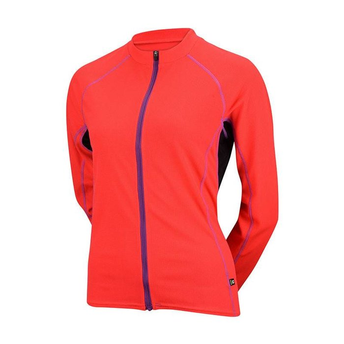Cannondale Women's Classic Longsleeve Jersey Coral