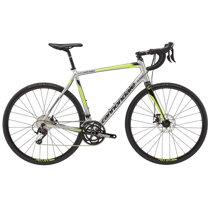 2017 Cannondale Men's Synapse 105 Disc - Show Bike