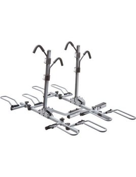 SPORTRACK Sports Rack Crest Deluxe 4 LOCK & TILTING PLATFORM HITCH RACK - 4 BIKE