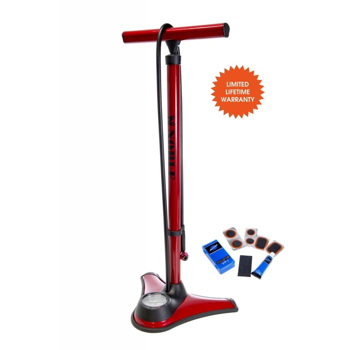 Noble Cycling Elite Easy Pump High Pressure Floor Pump
