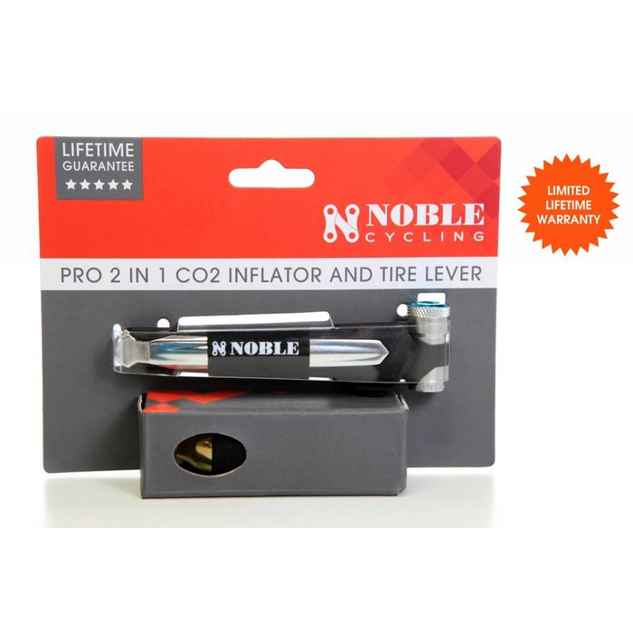 Noble Cycling Pro 2-in-1 CO2 Inflator and Tire Lever
