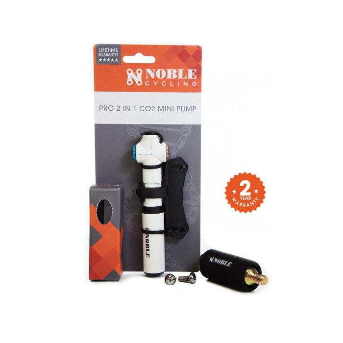 Noble Cycling Pro 2-in-1 CO2 Mini Pump