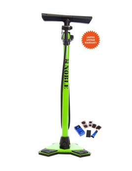 Noble Cycling Noble Cycling Elite Floor Pump With Top Guage Mount