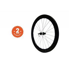 Noble Cycling Noble Cycling - Genesis Wheel- Thru axle deep dish carbon rims