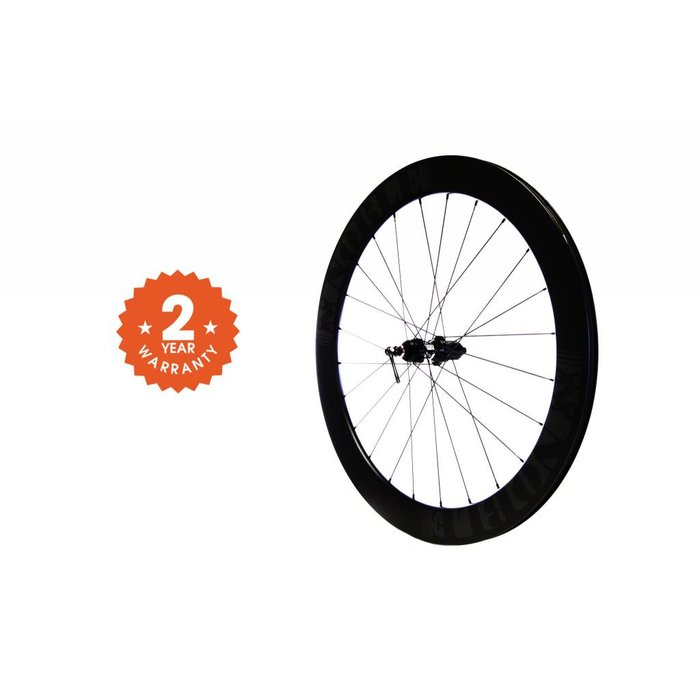 Noble Cycling - Genesis Wheel- Thru axle deep dish carbon rims
