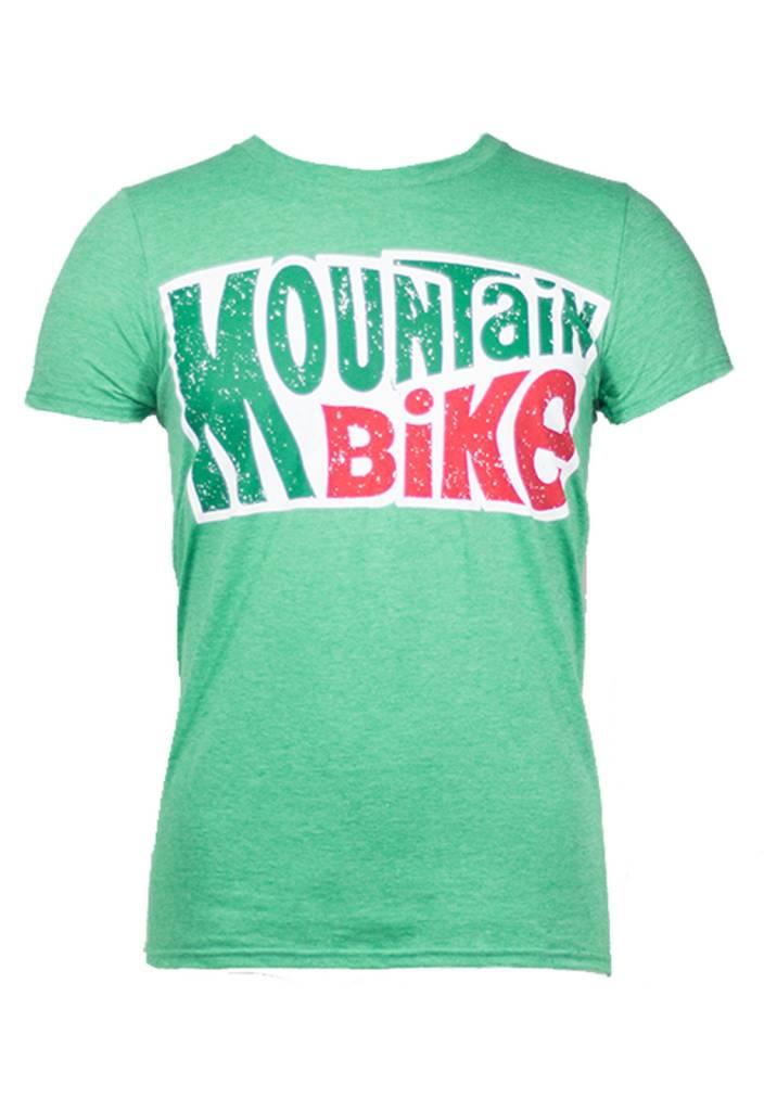 Noble Cycling Noble Cycling Mountain Bike Tee Green