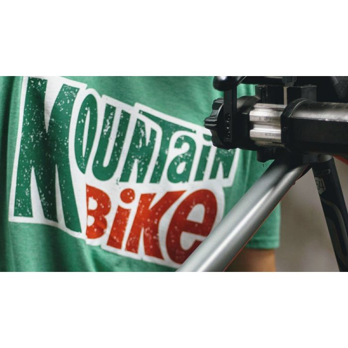 Noble Cycling Mountain Bike Tee Green