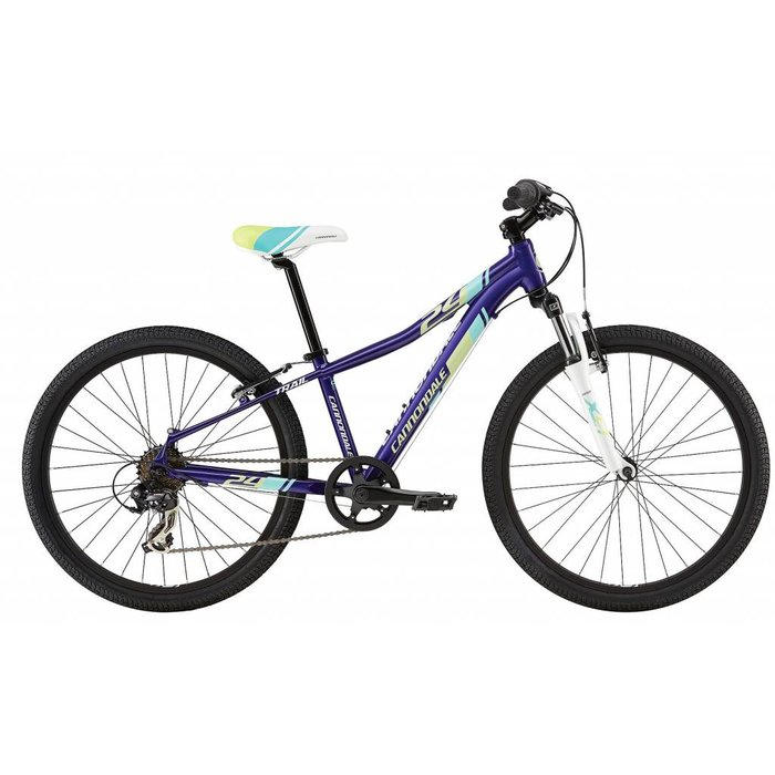 "2017 Cannondale Trail 24"" Pur"