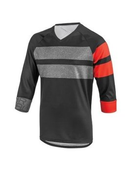 Louis Garneau Louis Garneau J-Bar 3/4 Sleeve MTB Jersey Red/BLK