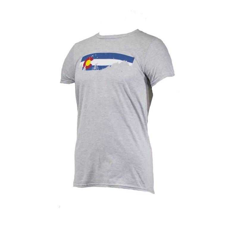 Noble Cycling Noble Cycling Colorado T-Shirt Grey
