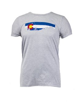 Noble Cycling Noble Cycling Colorado T-Shirt Grey