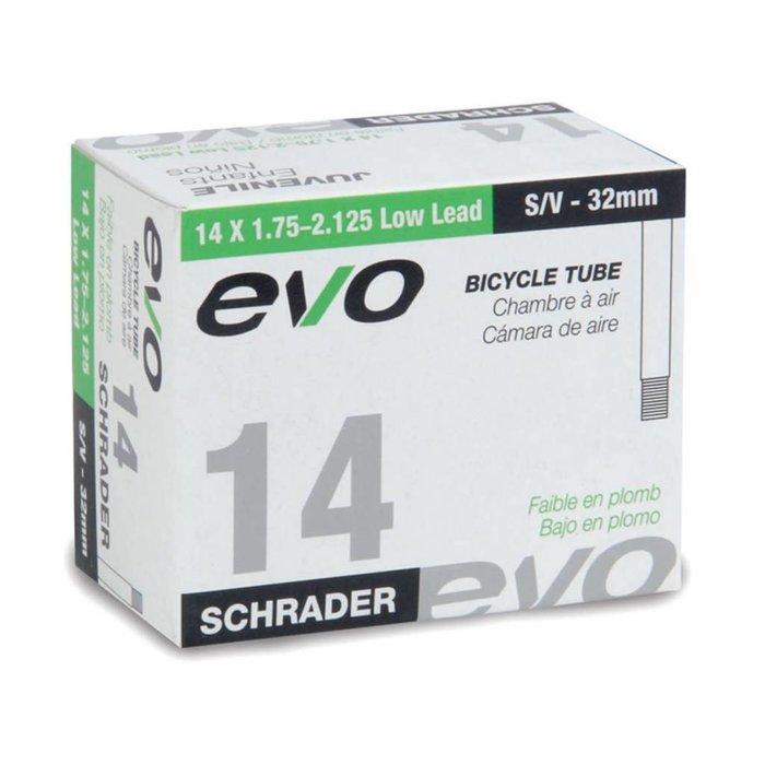 EVO, Inner tube, Schrader, 32mm, 14x1.75-2.125