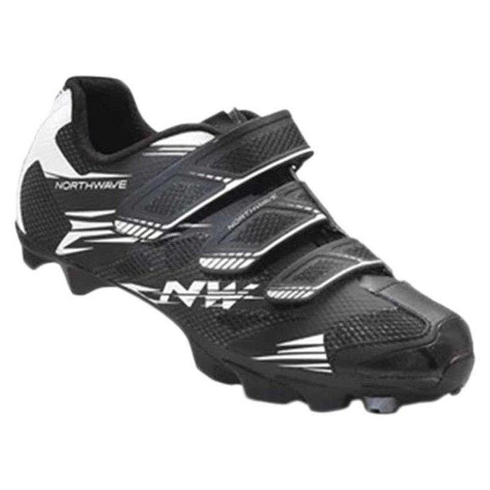 Northwave, Katana 3V Wmn, MTB Shoes, Black/White, 40