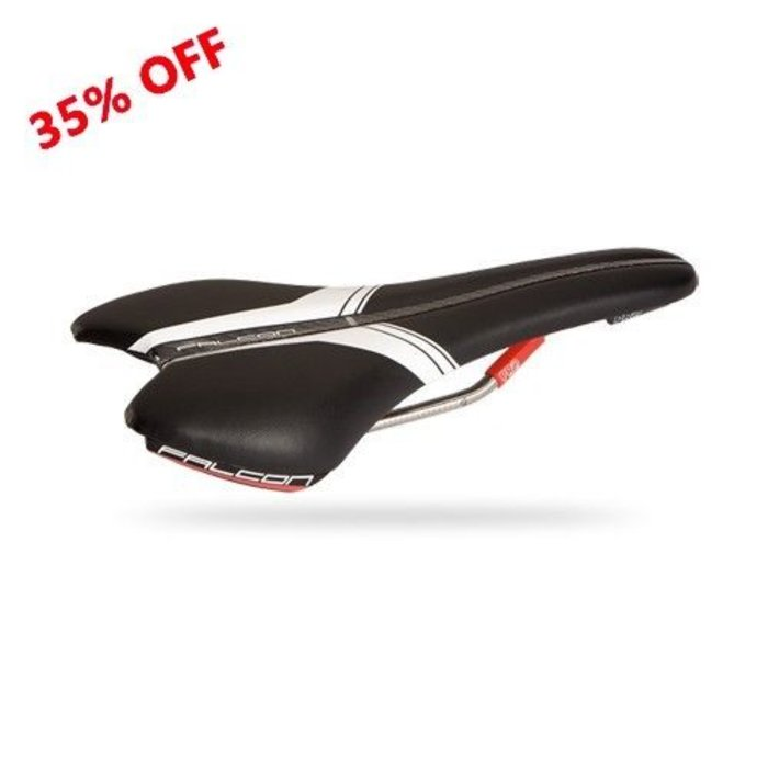 PRO Falcon TI Carbon Race Bicycle Saddle 142mm Black