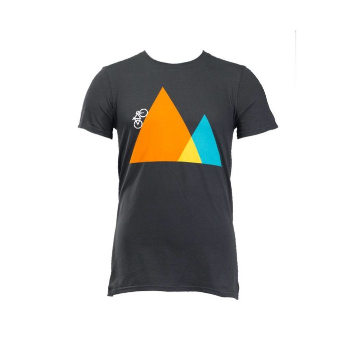Noble Cycling Climb Tee Shirt Grey