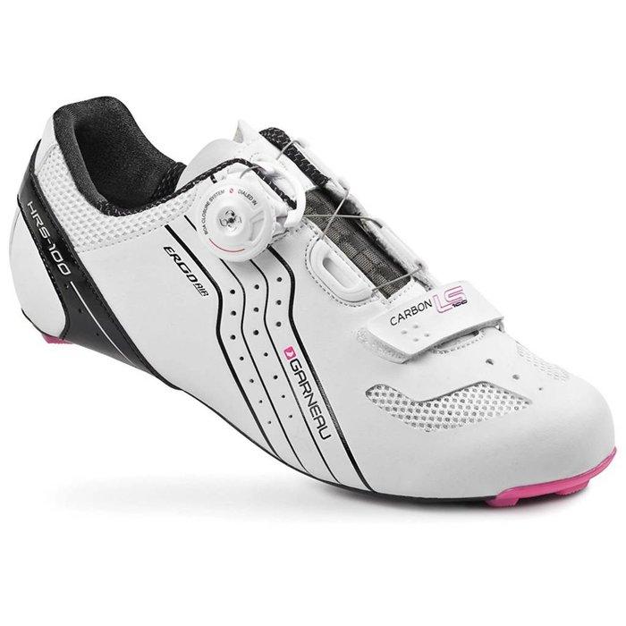 Louis Garneau Carbon LS-100 Women's Cycling Shoe: White 41.5
