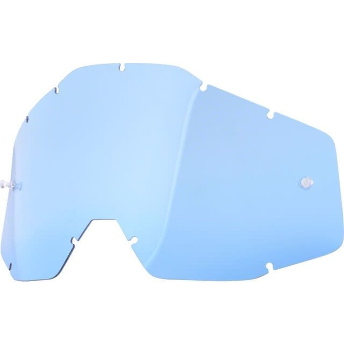 100% Replacment Lens-Accuri/Racecraft/Strata-Blue
