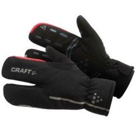 Craft Craft Siberian Split Finger Glove: Black LG